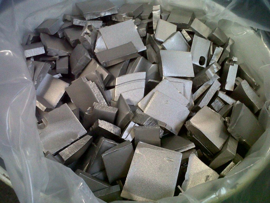 rottami titanio grado 5
